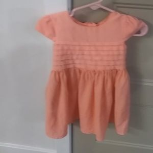 Carters coral dress 12 months